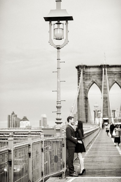 Engagement in Brooklyn, NY - Photography by Christian Oth Studio