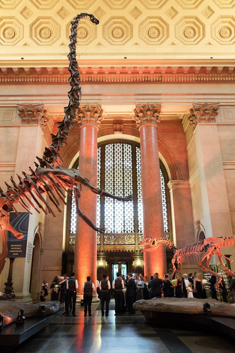 Wedding at the American Museum of Natural History, New York City - Photography by Christian Oth Studio