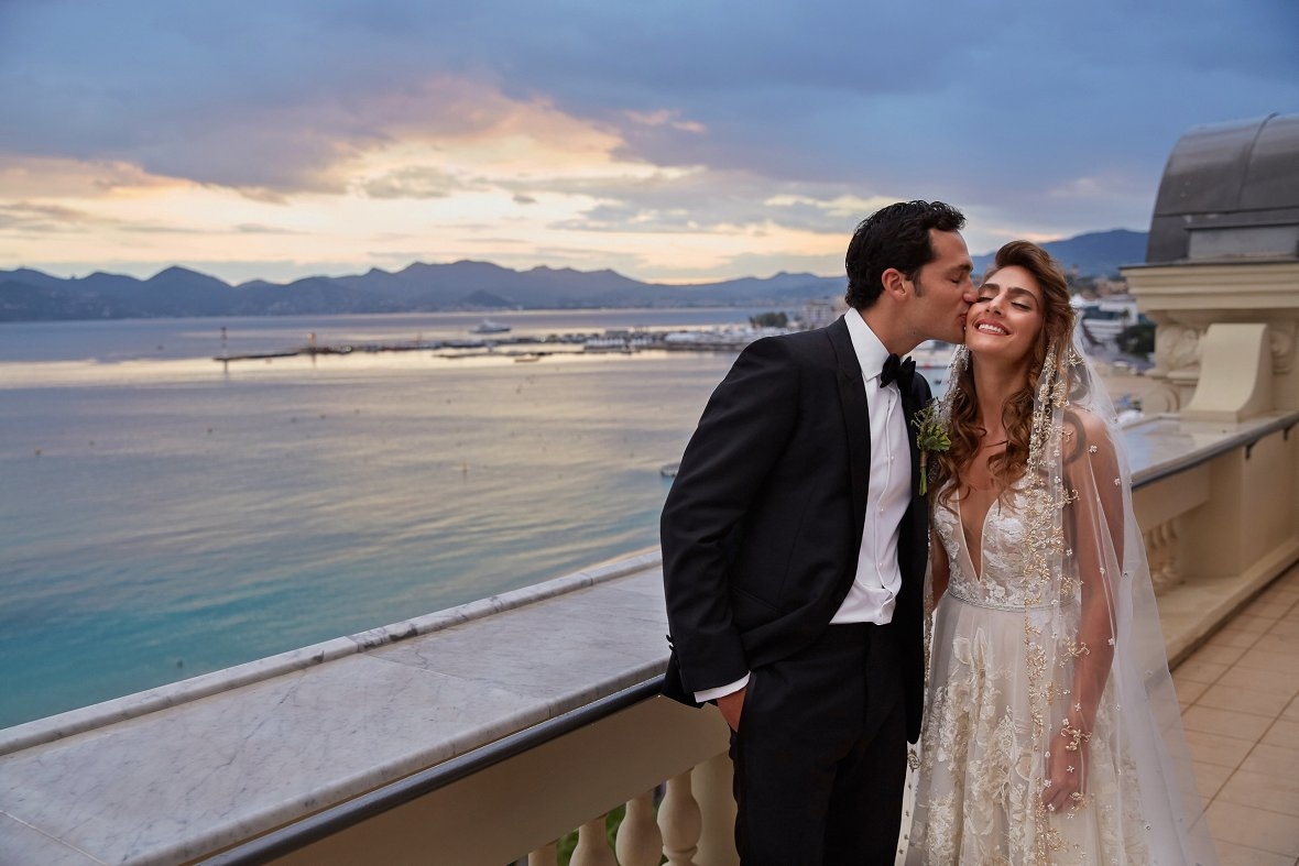 Wedding in Cannes by Christian Oth Studio