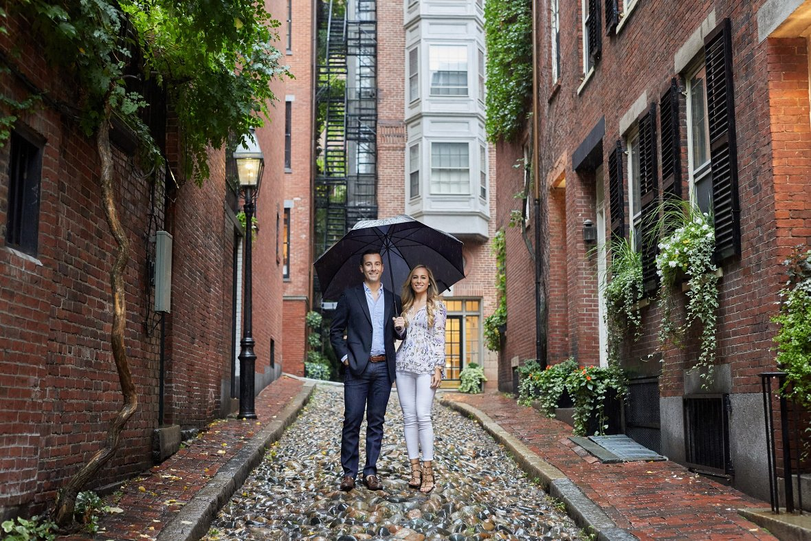 Engagement Photos in Boston- Photography by Christian Oth Studio