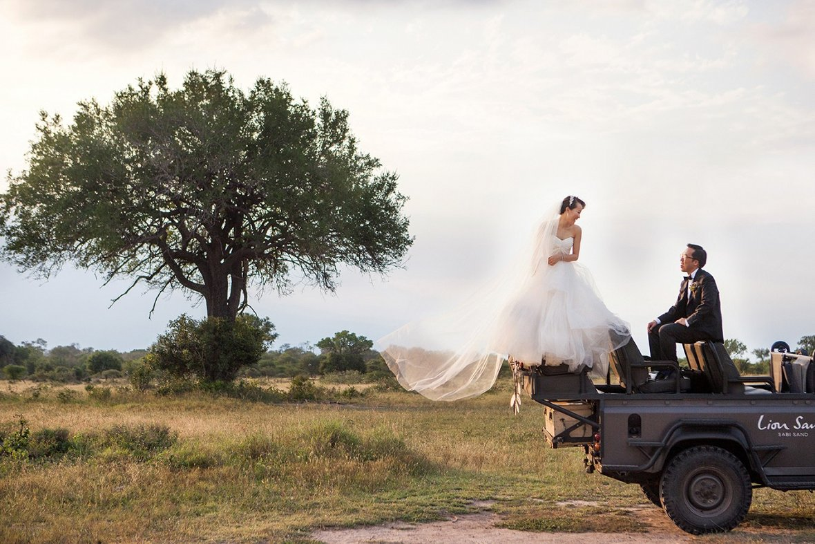Wedding in Lion Sands, South Africa - Photography by Christian Oth Studio