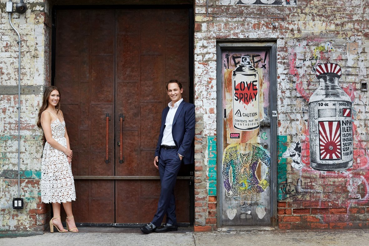 Engagement photos in New York City - Photography by Christian Oth Studio