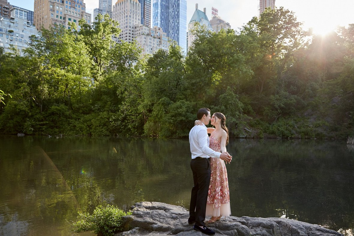 Summer engagement session in New York City