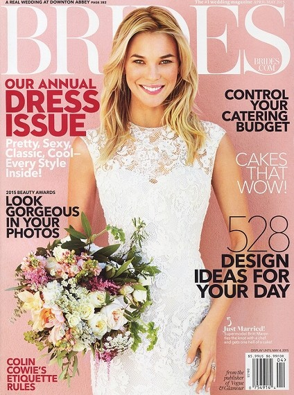 Brides Magazine April May 2015