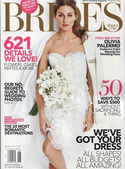 Brides Magazine June 2014