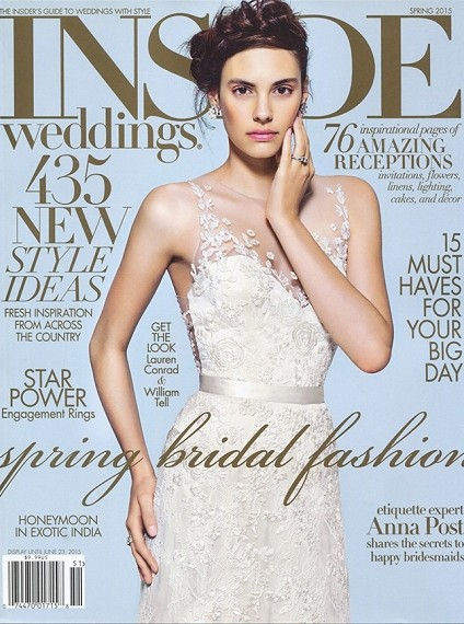 Inside Weddings Magazine Spring 2015