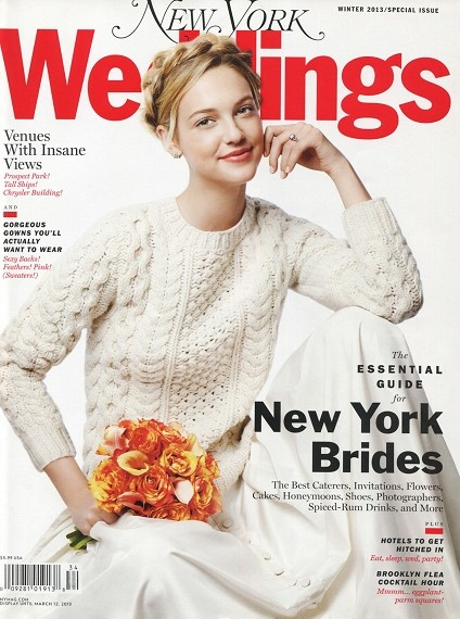 New York Magazine Weddings Winter 2013
