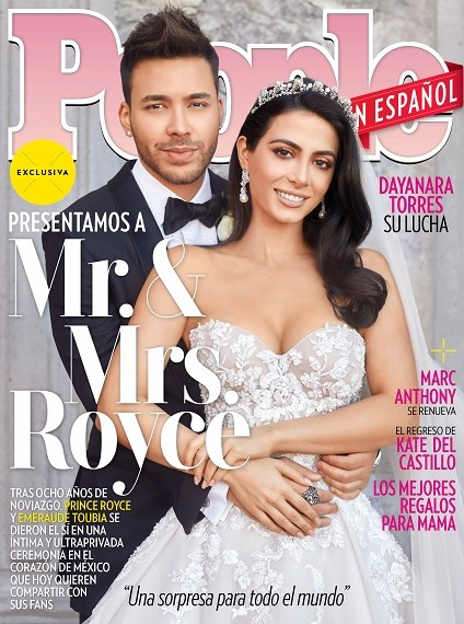 Emeraude and Prince Royce